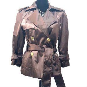 Zara Basic Metallic brown jacket never worn